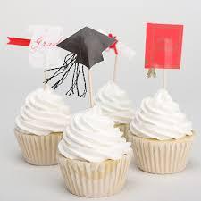 24pcs Graduation Cupcake Graduation Hat Cup Cake Muffin Paper