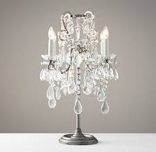 crystal chandelier table lamp bedroom gregorsnell regarding lamps designs 4