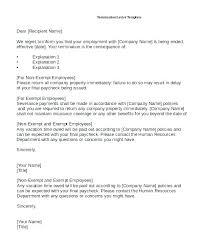 Termination Of Employment Letter Template Termination Employment Letter Ending Template Ontario Netdevilz Co