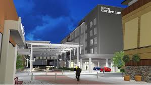 a 136 room hilton garden inn will open at patriot place the ping and