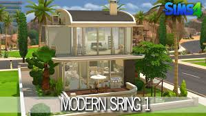 Small Picture The Sims 4 House Building Modern Spring Speed Build Youtube loversiq