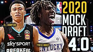 2020 NBA Mock Draft 4.0: Tyrese Maxey ...