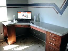 custom built desk in computer desks office sizes ideas counter height table desktop pcs custom built