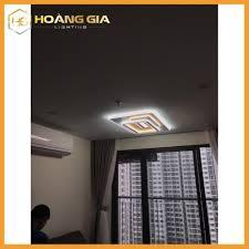 Đèn Ốp Trần - Đèn Phòng khách - Đèn LED Ốp Trần Hình Chữ Nhật ST LCN830, Có  điều khiển chiết áp- Bảo Hành 12 Tháng giá cạnh tranh