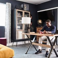 office man cave. Sterling K. Brown Gave His Garage A Makeover For The Ultimate Office\u0026#8211; Office Man Cave