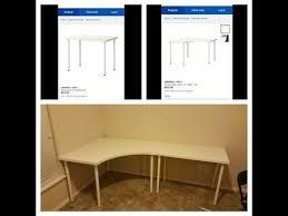 corner desk office. linnmon adils corner desk and regular from ikea you office u