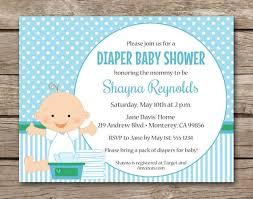 Diaper Shower Invitation Diaper Baby Shower Invitation Diaper Shower Invitation Boy Etsy