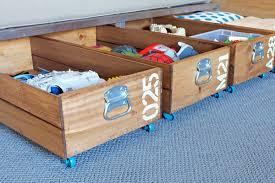 diy-rolling-storage-crate-2 Save  Under Bed ...
