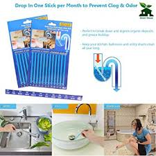 How To Clean Bathroom Sink Drain Classy Amazon Drain Opener Drain Strip Clean Stick Drain Cleaner