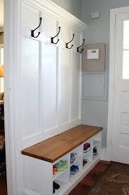 entrance shoe rack coat racks mudroom bench and coat rack entryway coat hooks with shelf white