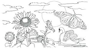 Qualified Preschool Spring Coloring Pages F9066 Stunning Preschool