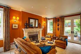 traditional family room. Adeeni Design Group