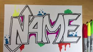 Cool Designs To Draw Your Name Cool Name Drawing At Getdrawings Com Free For Personal Use