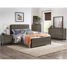 gray king bedroom sets. gray \u0026 black contemporary 6 piece king bedroom set - oxon sets
