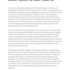 Essay about your self Adomus