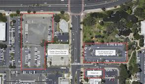 the civic center parking map