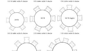 full size of 6 person dining table diameter seat length round for measurements rectangle sizes co