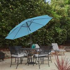 pure garden 10 ft aluminum patio