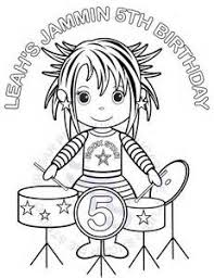 Small Picture ROCK STAR Coloring Page Twisty Noodle rockstar coloring pages