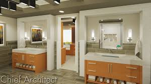 chief architect home design software samples gallery easy to model custom vanities have thick slab countertops office architect office supplies