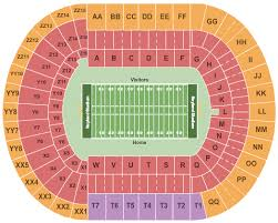 Vanderbilt Football Stadium Virtual Seating Chart Tennessee Volunteers Vs Vanderbilt Commodores Events