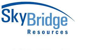 machinist logo. skybridge resources machinist logo