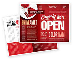Now Open Flyer Template We Are Open Brochure Template Design And Layout Download
