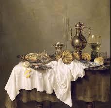 vermeer as a still life painter