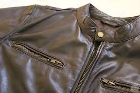 wilsons leather black rivet distressed open bottom leather jacket with zippered cuffs
