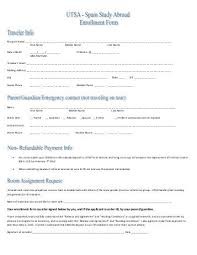 Enrollment Form Interesting Your Enrollment Form Must Be Signed Below By You And If The