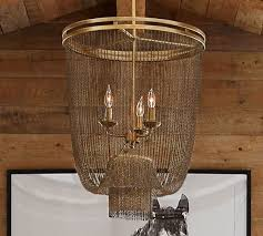 atherton chainmail chandelier