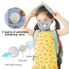 Watches & More - <b>KN95 kids facemask</b> with PM2.5 carbon ...