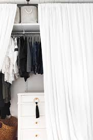 our bedroom makeover details how we added a closet to a small space using elfa