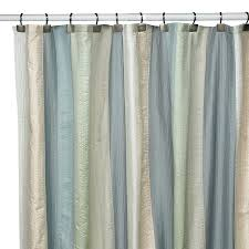 spa pastel deco bain bed bath and beyond polyester fabric shower curtain new