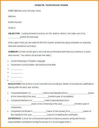 Cover Letter Esl Teacher Sample Teacher Resume Teacher Cover Bunch
