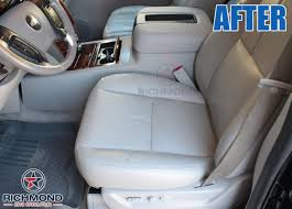 2007 2016 gmc sierra denali leather seat cover driver bottom tan