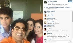 Happy birthday message on instagram ~ Happy birthday message on instagram ~ Sachin tendulkar debuts on instagram master blaster thanks fans