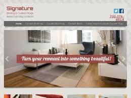 signature binding custom carpets las vegas nv