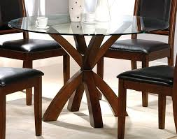 glass top oak dining table dining room furniture round glass top dining table washed oak dining