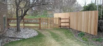 Corner Lot Fence Design This Split Rail Fence Is Excellent On A Corner Lot With Its