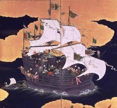 Япония век История государства раннего нового времени  Португальский корабль история Японии Корабль Португалии 17 век