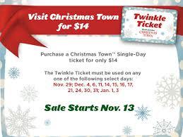 busch gardens tickets. Christmas Town Discount Busch Gardens Tickets