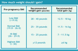 Weight Gain During Pregnancy Chart In Kg 51 Meticulous Proper Weight Gain During Pregnancy Chart