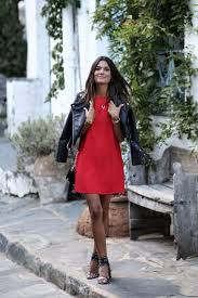 throw a leather jacket on over your statement summer evening dress to generate a style which