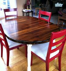 diy furniture refinishing projects. man the white and stain combo looks good refinished dining table tablesfurniture refinishingfurniture projectsdiy diy furniture refinishing projects o