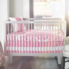 Modern Girls Crib Bedding