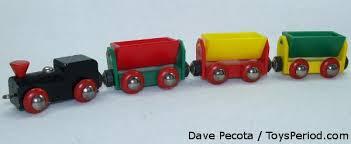 vine 1970s brio wooden train