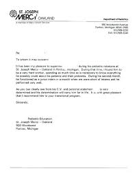 Sample Recommendation Letter Reference Template Free With Of ...