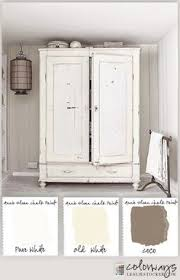 painting furniture whiteWhite Chalky Paint Dresser Makeover  Chalky paint Country chic