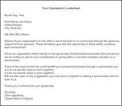 Format For Sponsorship Letter Best How To Get Team Sponsorships Wrestling Fun Pinterest Letter